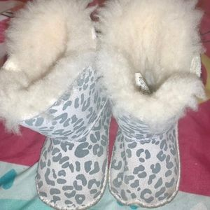 Cheetah Ugg Australia Boots for Babies
